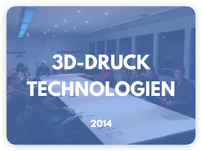 3D-Druck Technologien Workshop